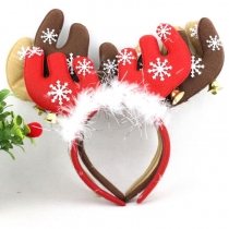 Christmas antlers adult children headband headdress headdress ornaments