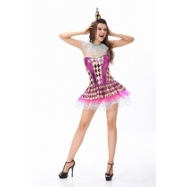 Sexy cute Peng Peng skirt small witch witch witch costume party performance costumes