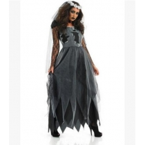 The new 2015 Halloween party role-playing ghost Corpse Bride costume masquerade stage costumes