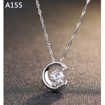 Sterling Silver Necklace female clavicle Korean fashion jewelry pendants pendant ol