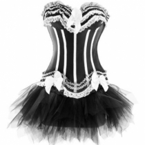 Burlesque corset dress