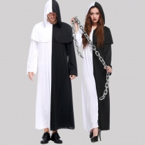 2016 new male and female lovers black and white impermanence Messengers Halloween Halloween cosplay clothes outlet clothes
