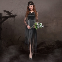 The new 2016 Halloween zombie ghost ghost bride dress bride RPG