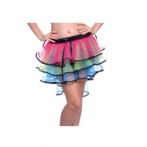 Color fashion wild stage performances skirt tutu