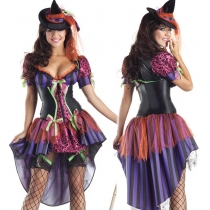 Queen installed Halloween costumes Witch uniforms temptation Halloween costumes