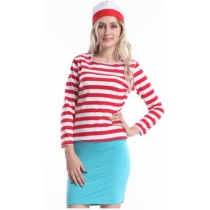 Lady Where's Wenda (Wally) Fancy Dress Costume