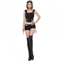 Export female police uniforms temptation female police installed Halloween carnival party installed