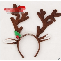 2017 new Christmas headband hoop Christmas antlers headdress decorations explosion models