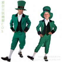 COS Halloween Irish Goblin Alice Series Children Adult Elven Garment
