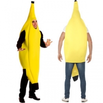 Sexy fruit banana clothes Halloween stage equipment bar wedding carnival Singles Day