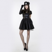 Scissorhands Edward 's Export Film Role - Playing Handsome Girl - loaded cosplay Halloween costume