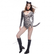 2017 new luxury leopard tiger loaded cat girl cat ladies COSPLAY nightclub