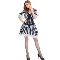 2017 new Spanish souls souls souls clothing Halloween female vampire striped party clothing