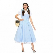 Halloween New Game Uniforms Wizard of Ole Dorothy Play Costume