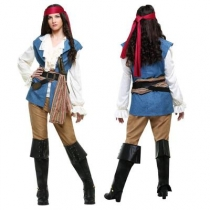New Caribbean Pirate Costume Saints Party Party Role Playing