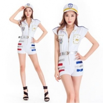 New Siamese Navy Costume Cosplay Stage Costume Party Party Costume Naval Uniform