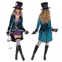 Alice crazy hat costume makeup party party stage costumes