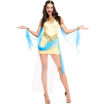 2018 new ancient Egyptian pharaoh Egyptian queen princess dress stage party performance costume cosplay clothes