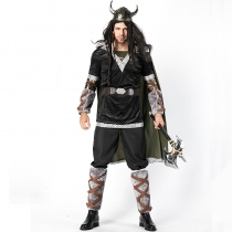 2018 new cow devil battle suit Halloween cosplay costume Cupid cow devil game suit male warrior costume