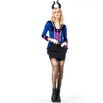 2018 new Halloween women's clothing cosplay cow devil woman role-playing clothing bar stage costumes