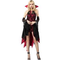 2018 new Halloween vampire female role-playing costume cosplay night wandering soul female ghost costume witch