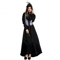 2018 new adult female female killer fancy dress party clothes Earl Queen Halloween costume