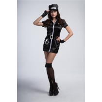 Halloween costume 2018 new female police uniforms sexy suit German Easter party costumes