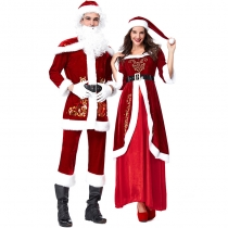 2018 new Santa Claus costumes Europe and the United States Amazon Christmas party party costumes Christmas lovers