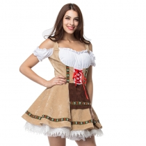 German Oktoberfest clothing Europe and America coded beer real shot XL beer maid service