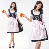 Europe and America game uniforms maid costumes beer festival beer restaurant waiter clothing