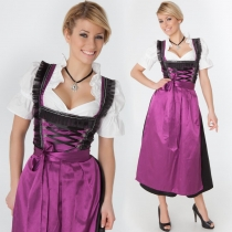 European and American game uniforms, beer festival costumes, role-playing beer sister restaurant, waiter clothing