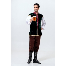 German Oktoberfest men's role-playing Indian prince costume national dance costumes