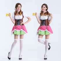 European and American game uniforms Oktoberfest clothing role-playing beer sister restaurant waiter clothing maid wear