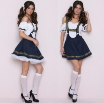 German Oktoberfest clothing sling dress beer sister clothing service student clothing beer festival clothing