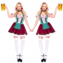 German Oktoberfest clothing beer sister clothing bar stage equipment