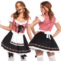 German Oktoberfest beer sister clothing bar night market waiter European and American maid costume stage costumes