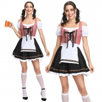 German Oktoberfest clothing beer skirt bar waiter clothing