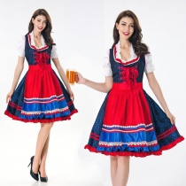 European and American game uniforms role playing maid costume restaurant maid service clothing