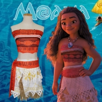 Ocean Romance cos Moana Moana with the same clothes anime two yuan costumes Halloween performance clothes