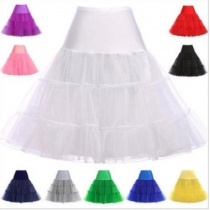 14 colors crystal yarn boneless skirt rock and roll skirt pettiskirt skirt wedding skirt skirt