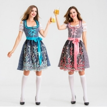 New German traditional Oktoberfest event costume Munich beer costume stage performance costume costume