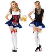 New beer sister clothing German Oktoberfest clothing restaurant service student uniform
