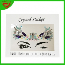 Multi-style face stage art makeup rhinestone stickers spot direct eye tattoo stick drill