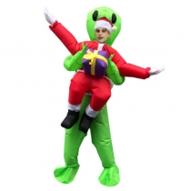 Explosive Adult Cosplay Christmas Tree Inflatable Clothes