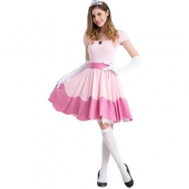 Snow White Uniform Halloween Costume Fairy Tale Cosplay Uniform Nightclub Cosplay Uniform
