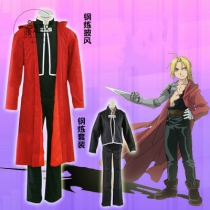 Fullmetal Alchemist cosplay costume Full Steel Red Edward Cosplay Costume