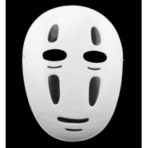 Spirited Away COSPLAY Costume Faceless Male Mask