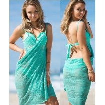 Hot design underwear cover up sexy beach dress for ladies