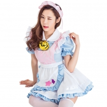 2019 Alice dreamland fairy maid costume cosplay princess dress girlfriends costume COS clothing costume bell maid