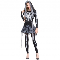2019 Halloween New Truss Ghost Bride Zombie Costume Night Arena DS Stage Costumes Ghost Festival Ghosts